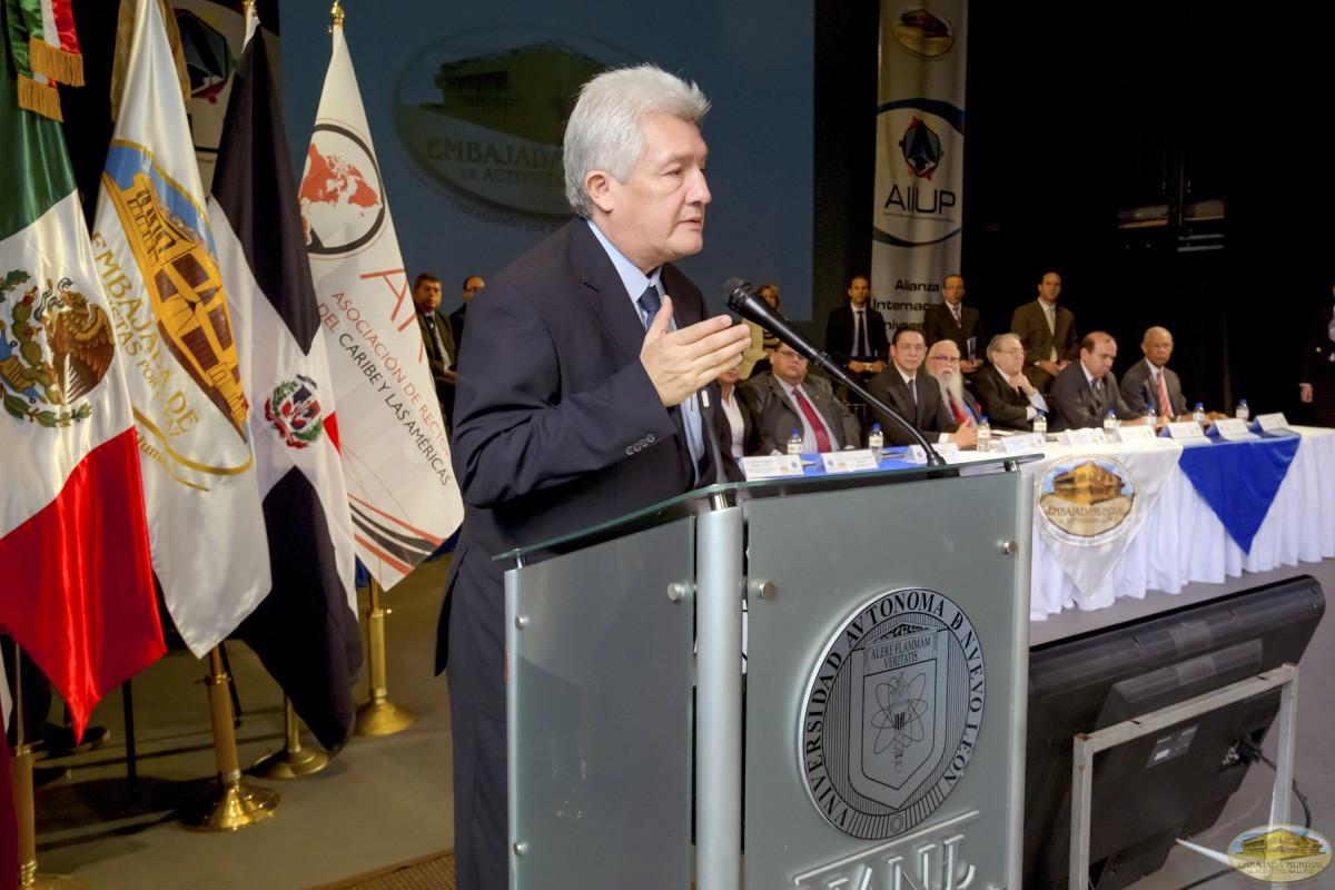 Carlos Arturo Luna | Firmas de Convenios ALIUP y Universidades en México