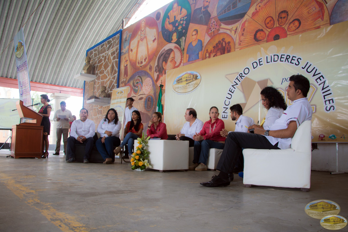 In Oaxaca, youth leaders join the World Peace Movement