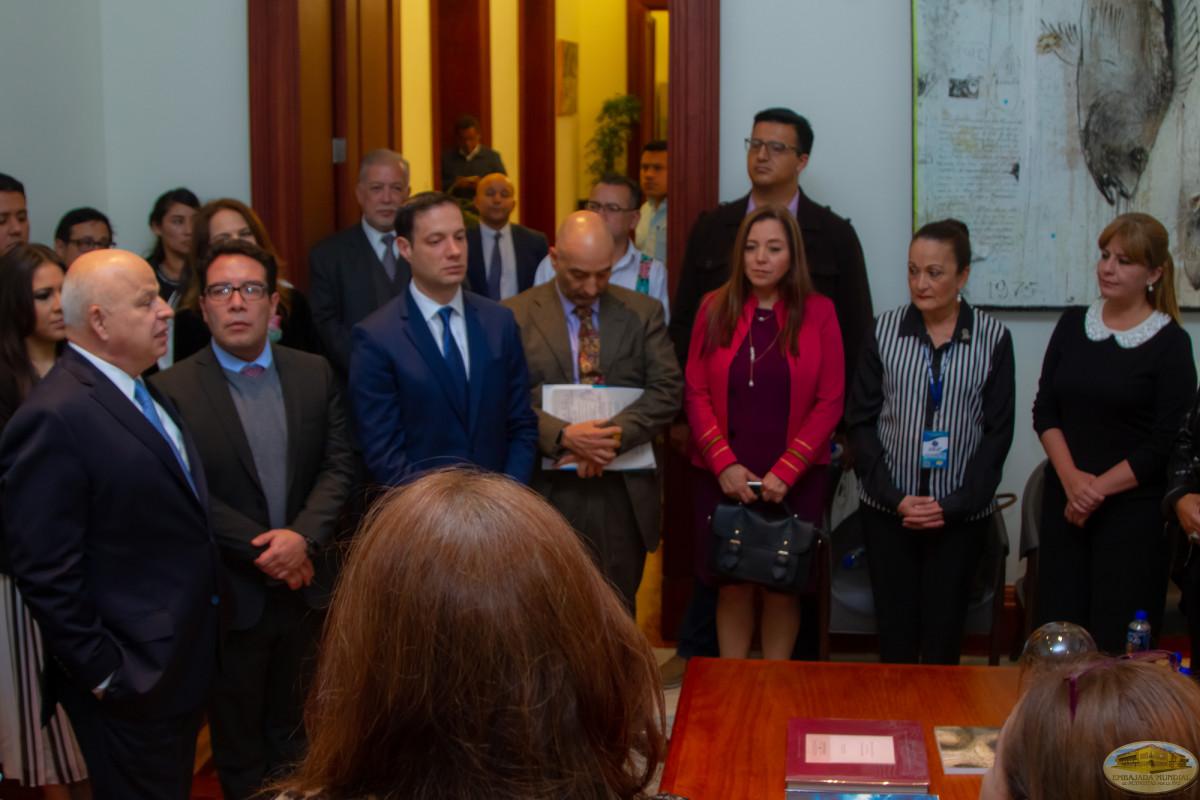 Visita oficial al subsecretario de Educación Superior de la Secretaría de Educación Pública de México