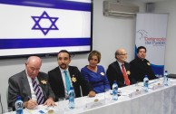 At the Ombudsman's Office in Panama the victims of the Holocaust were remembered