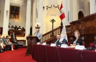 """""""Traces to Remember"""" is presented in the Congress of the Republic of Peru"""