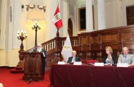 """Traces to Remember"" is presented in the Congress of the Republic of Peru"