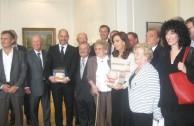 La Presidenta de Argentina entregó la orden para el inicio de obras del monumento a las víctimas del Holocausto
