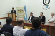 """Forum """"Educating to Remember"""" in  U.N.A.F., Argentina"""