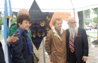 "Inauguration of the monument ""Traces to Remember"" in the public square of Cuidad de las Esculturas"