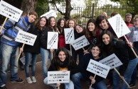 "March ""Torches for the Shoah"", Argentina"