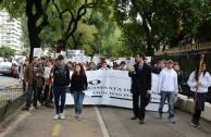 """Caminata """"Antorchas por la Shoá"""", Argentina"""