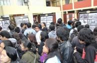 """Foro Universitario """"Educando para No Olvidar"""" en la Universidad Nacional Federico Villareal, Perú"""