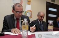 """Se devela Placa """"Huellas para no olvidar"""" en instalaciones del poder legislativo en México"""