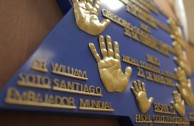 """Traces to Remember"" plaque is revealed in the legislative branch facilities in Mexico"