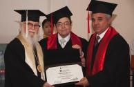 Cervantina University ceremony awarding Doctorates in Honoris Causa