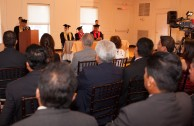 Universidad Cervantina, ceremonia de otorgamiento de Doctorados Honoris Causa