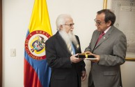 Meeting at the Constitutional Palace in Bogotá, Colombia