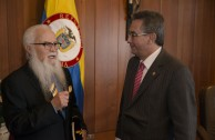 Meeting with the President of the Supreme Court in Bogotá, Colombia