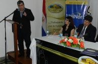 """The University Forum """"The Holocaust, Paradigm of Genocide"""" aroused great interest in the University of Northern Paraguay"""