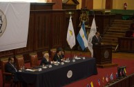 First table at the 2nd International Judicial Forum