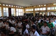 """Tercer Foro """"El Holocausto y los Derechos Humanos"""" en Chiquimula, Guatemala"""