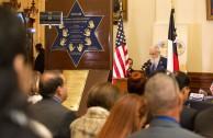 """El Estado de Texas recibió el Proyecto """"Huellas Para no Olvidar"""""""