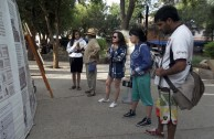 Photographic Exhibition of the Traces to Remember project at the Tilcara public plaza