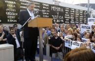 Argentinos marchan pidiendo justicia por la muerte del fiscal Nisman