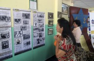 Exhibition on the Holocausto at the Universidad Autónoma de Chiriquí