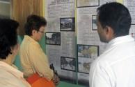 Exhibition on the Holocausto at the Universidad Autónoma de Chiriquí