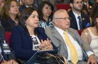 Lic. Ruth Flórez de Bermúdez, Coordinadora para Venezuela de la EMAP y Dr. Miguel Bermúdez Marín, Coordinador Internacional de la EMAP