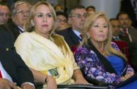 Senadoras Mirta Rusinky y Blanca Fonseca (Paraguay)
