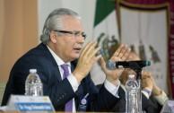 Dr. Baltasar Garzón Real (España), Presidente de la Fundación FIBGAR, organización pro Derechos Humanos y jurisdicción universal.