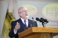 El Magistrado Julio César Vásquez-Mellado, Director General del Instituto de la Judicatura Federal