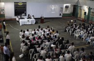 Forum at the Esteban Ochoa Educational Institution- Itagui, Antioquia.