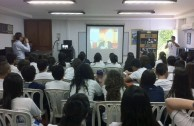 The GEAP organized events in educational and governmental institutiones,Colombia commemorated the 70 years of the Auschwitz liberation and the International Day in Memory of the Victims of the Holocaust