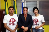 "Brazil supports the campaign ""Life is in the Blood"""