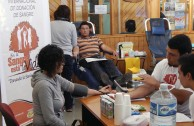 619 units of blood for the health of the population in Chile