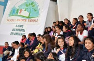 "Ecuador celebrated the ""World Environment Day"" by beginning with the love of life on our Planet Earth."