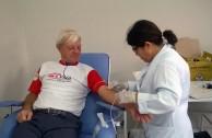 Brasil apoya la 5 Maratón internacional de donación de sangre