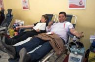 Chile Apoya la 5 Maraton internacional de Donacion de sangre