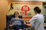 Spain supports the 5th International Blood Drive Marathon