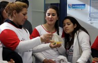 Training in Mendoza, Argentina for the 5th International Blood Drive Marathon