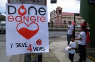 Costa Rica supports the 5th International Blood Drive Marathon