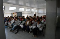 Foro en la escuela N°76 Olavarria Argentina