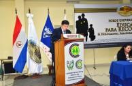 """En Paraguay la EMAP en asocio con la Universidad Tecnológica Intercontinental impartieron el Primer Foro Universitario """"Educando para recordar"""""""