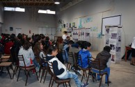 Forum at the Fray Esqui School in Olavarria, Argentina