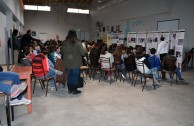 Foro en la Escuela Fray Esqui Olavarria