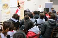Forum at the Fray Esqui School in Olavarria, Argentina