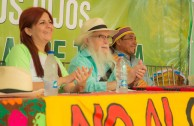 Historic meeting with the Children of Mother Earth in Venezuela