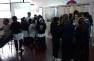 "As an action for peace, the Armenian Genocide was remembered by students of the ""Patricias Mendocinas"" College in Argentina"