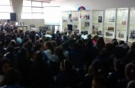 """As an action for peace, the Armenian Genocide was remembered by students of the """"Patricias Mendocinas"""" College in Argentina"""