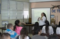 Puerto Rican students receive an integral education to detect global warning signals
