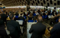 "The International Youth Encounter ""Music bringing peace and happiness to our hearts"" has ended successfully"